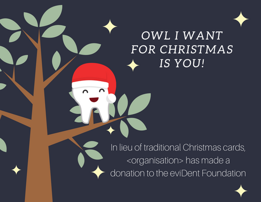 Owl I want for Christmasis you